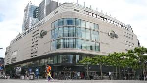 Der Kaufhof-Weltstadthaus putzt sich heraus