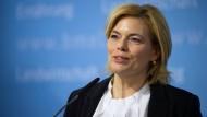 Steht weiter in der Kritik: Bundesministerin Julia Klöckner