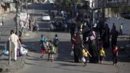 Hamas und Israel feuern wieder aufeinander