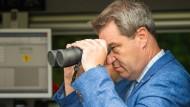 Alles im Blick? Bayerns Ministerpräsident Markus Söder