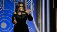 Oprah Winfrey  mit dem Cecil B. DeMille Award