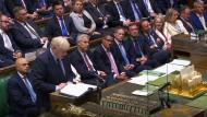Boris Johnson im Unterhaus