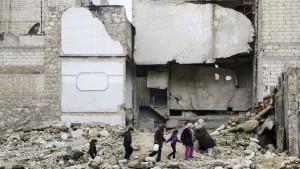 Syrien zu Stopp von Angriffen auf Aleppo bereit
