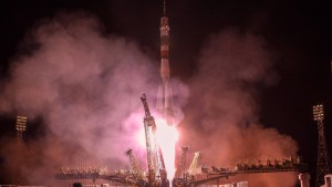 Rekordflug mit russischer Sojus-Kapsel