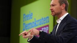 FDP will mitregieren - unter bestimmten Bedingungen
