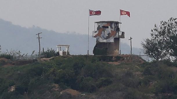 Südkorea meldet Schusswechsel im Grenzgebiet