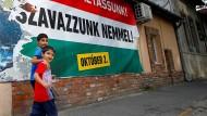 Referendum gegen Flüchtlinge- und für Orban