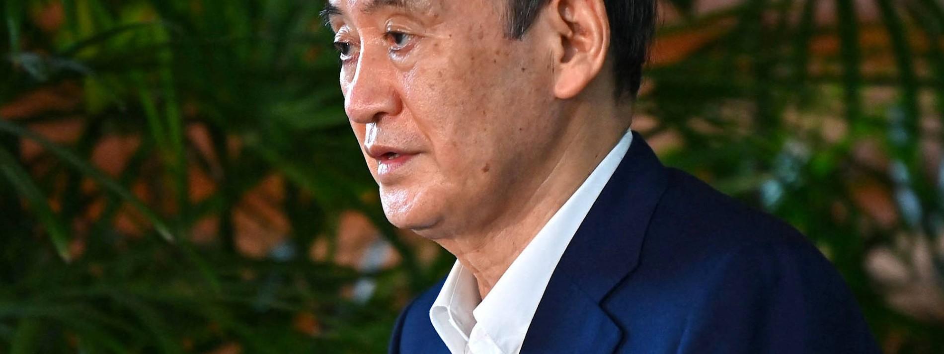 Ministerpräsident Suga gibt auf