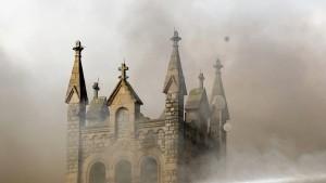Feuer zerstört Kirche in Philadelphia