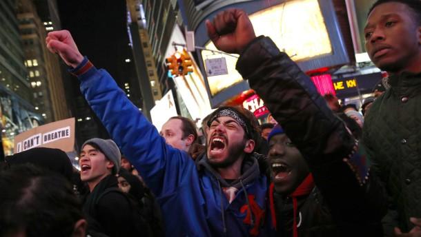 Demonstranten legen New York lahm
