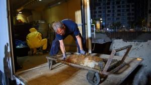 Weltkriegsbombe am Alexanderplatz entschärft