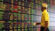 Die Börse in Bangkok