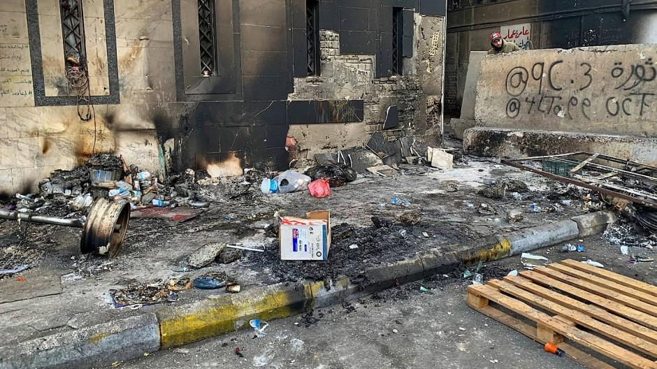 Mehr als ein Dutzend Tote bei Unruhen in Bagdad