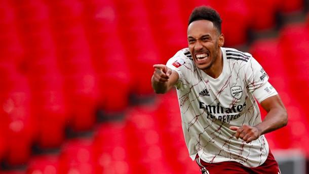 Aubameyang führt Arsenal zum Sieg über Klopp