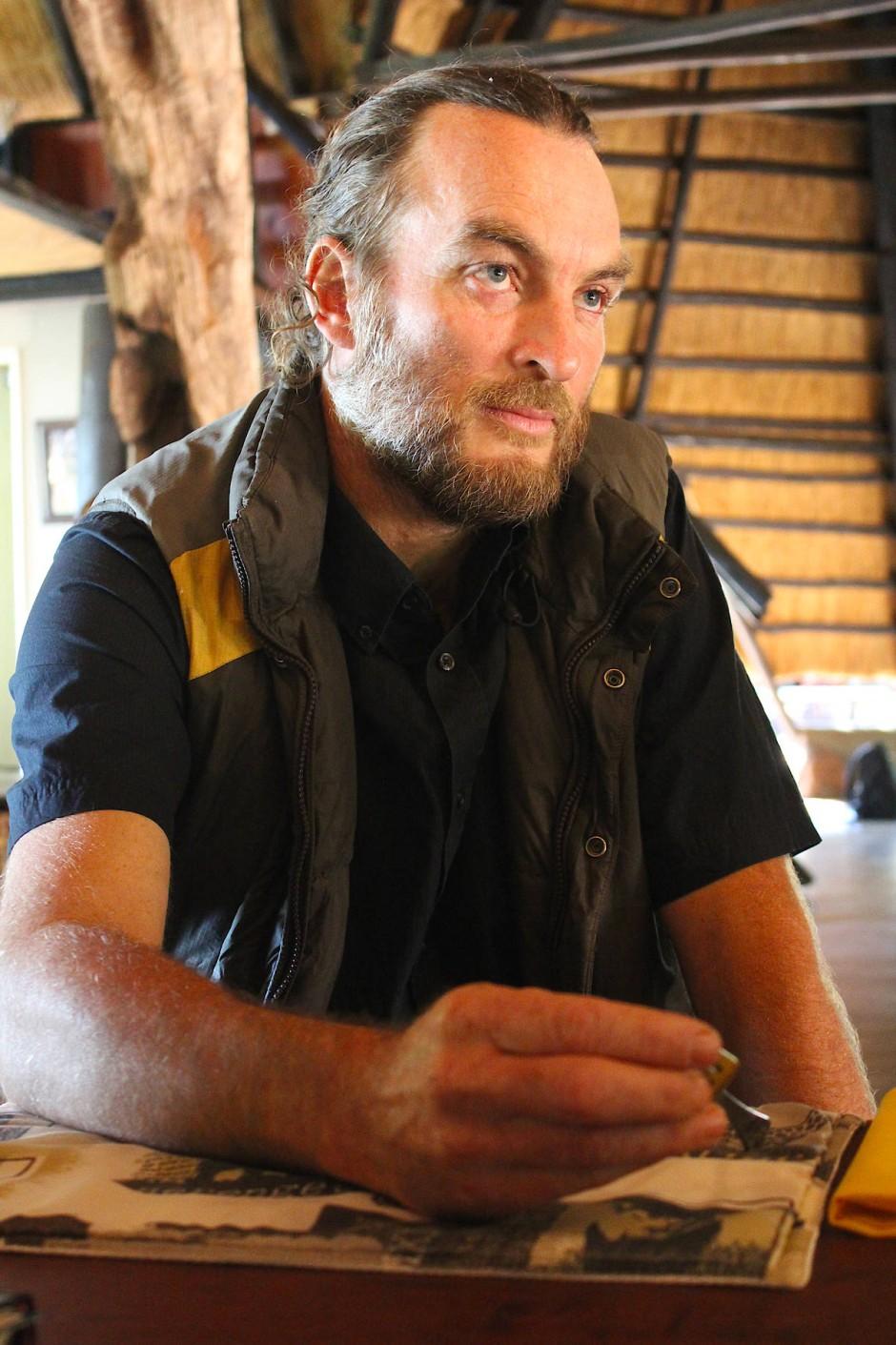Brent Stapelkamp, Kämpfer für Afrikas Löwen