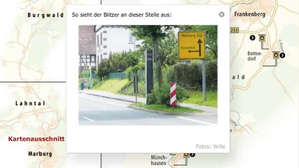 Blitzende Straßen / Flash Startbild