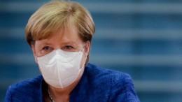"""Merkel wiederholt Mahnung: """"Viel weniger Menschen treffen"""""""