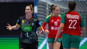 Deutsche Handballerinnen lösen WM-Ticket