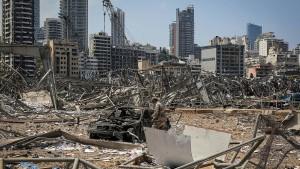 Libanon will Explosionsursache in alle Richtungen untersuchen