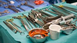 Chirurg hinterlässt seine Initialen auf Organen