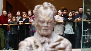 Ein Stein so groß wie Willy Brandt
