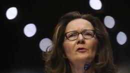 Geheimdienstausschuss für Gina Haspel als CIA-Direktorin
