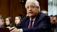 Senat bestätigt umstrittenen Botschafter für Israel