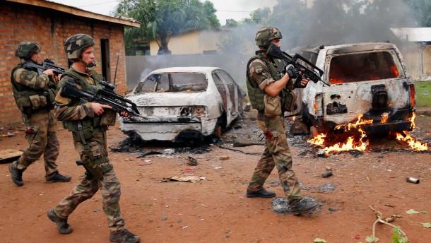 Zwei französische Soldaten gefallen