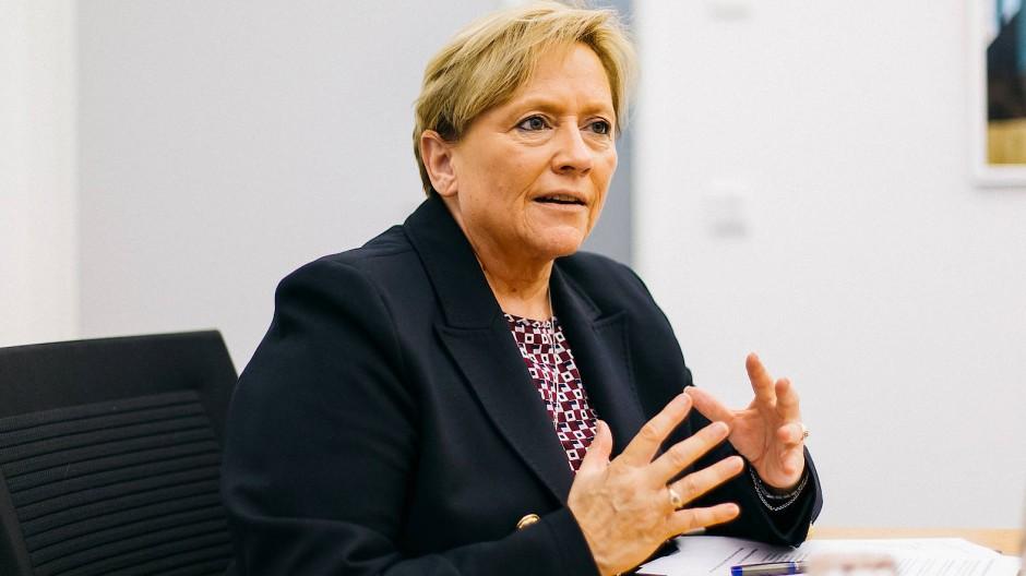 Wir wollen nicht mehr alles besser wissen – Kultusministerin Susanne Eisenmann über die CDU in Baden-Württemberg.