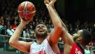 Basketballer besiegen Österreich