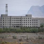Ein mutmaßliches Umerziehungslager für Uiguren in der Region Xinjiang in China.