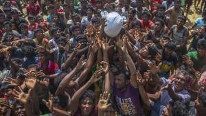 Aufnahmeländer fordern mehr Unterstützung