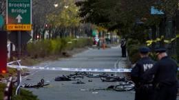 Acht Tote bei Anschlag mit Pick-up