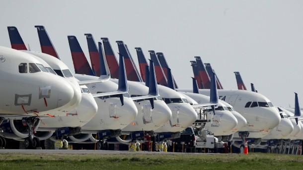 Washington stützt Fluggesellschaften mit Milliardenhilfen