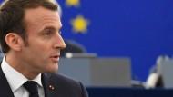 Macron mahnt bei Reformen zur Eile