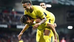 Erfolgreiches Debüt für Neymar