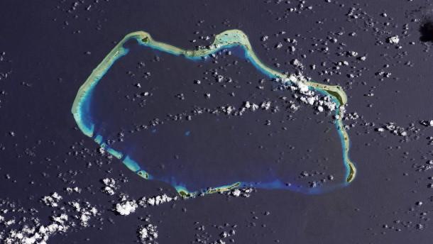 Korallen-Forschung aus dem All
