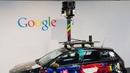 Sie fahren wieder: Google-Auto mit Kameraufsatz
