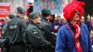 2500 Polizisten sollen am Donnerstag im Einsatz sein – doppelt so viel wie bisher.
