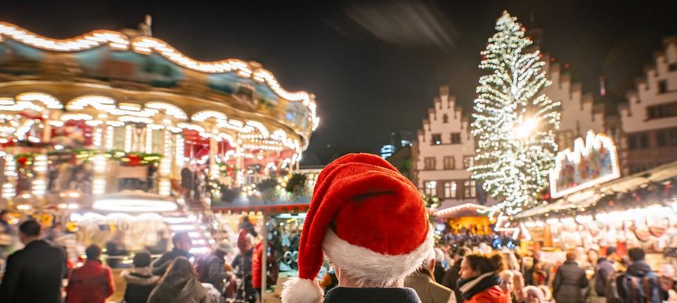 Wo Ist Noch Weihnachtsmarkt.Weihanchtsmarkt Eröffnung In Frankfurt Glitzert Es Wieder