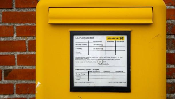 Gesetzesänderung soll die Preisgestaltung der Deutschen Post stützen
