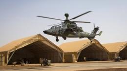 Wieder Zwischenfall mit Hubschrauber