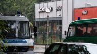 Gas in Berliner Fastfood-Restaurant geleitet