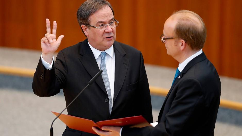 Armin Laschet ist neuer Ministerpräsident von NRW