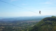 Drahtseilakt auf 1600 Meter Länge