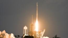 Wiederverwertete Rakete kehrt erfolgreich zurück