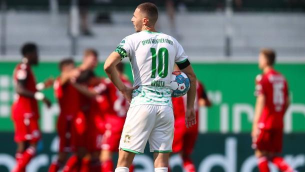 Fürth verpasst im 18. Versuch ersten Bundesliga-Heimsieg