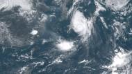 Taifun Noru zieht über Japan