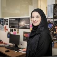 """Sarah Al Amiri war für die wissenschaftliche Planung der """"Hope""""-Marsmission der Vereinigten Arabischen Emirate verantwortlich."""