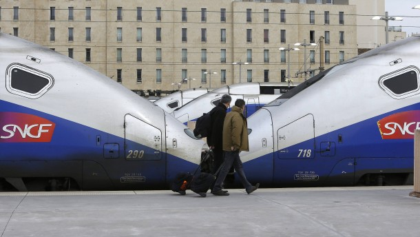 Französischer Bahnstreik betrifft auch deutsche Fahrgäste